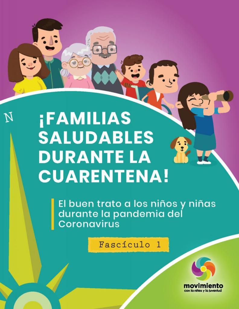 Familias saludables durante la cuarentena: Fascículo 2