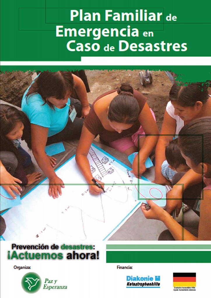 Plan Familiar de Emergencia en Caso de Desastres