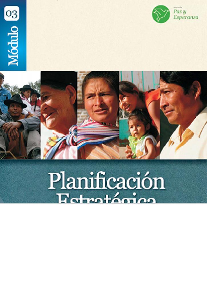 Planificación Estratégica Comunitaria – Módulo 3
